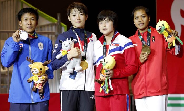 """""""แต้ว"""" สะอื้นไม่ถึงฝันหยิบทอง ลั่นขอสู้อีกครั้งเพื่อโอลิมปิก"""
