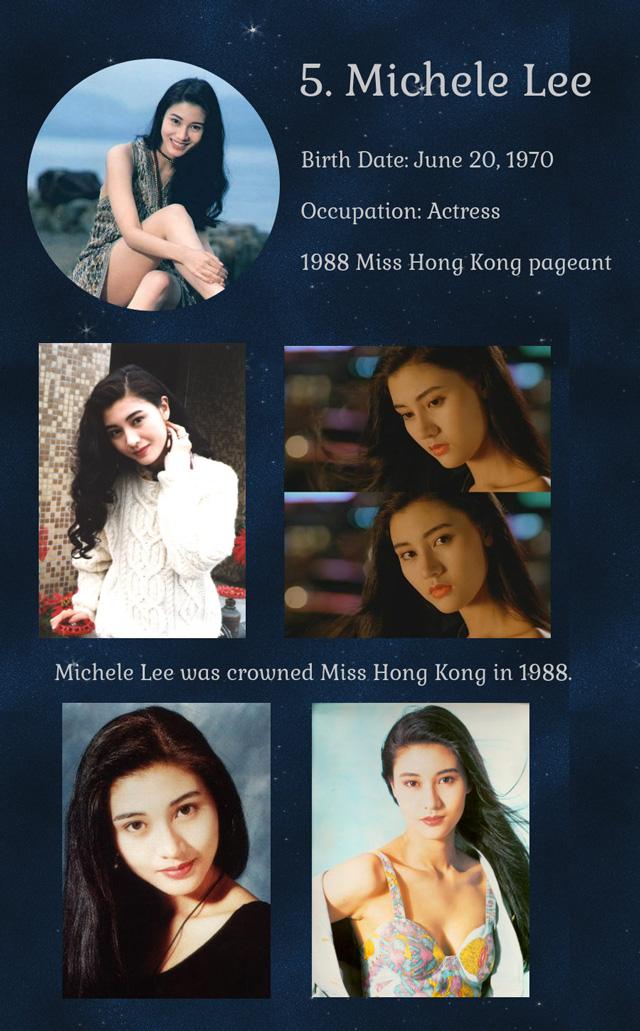 หลี่เจียซิน (มิสฮ่องกง 1988)
