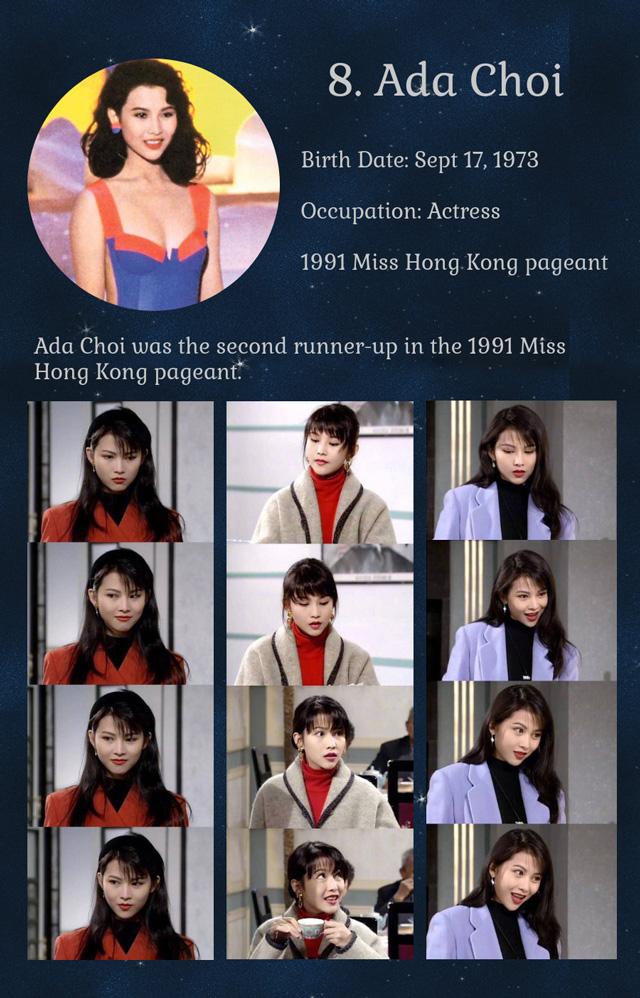 ไช่เส้าเฟิน (รองอันดับ 2 มิสฮ่องกง 1991)