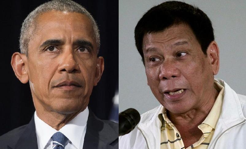 ผู้นำฟิลิปปินส์ขอโทษ 'โอบามา' ที่เคยด่าเป็น 'ลูกกะหรี่'