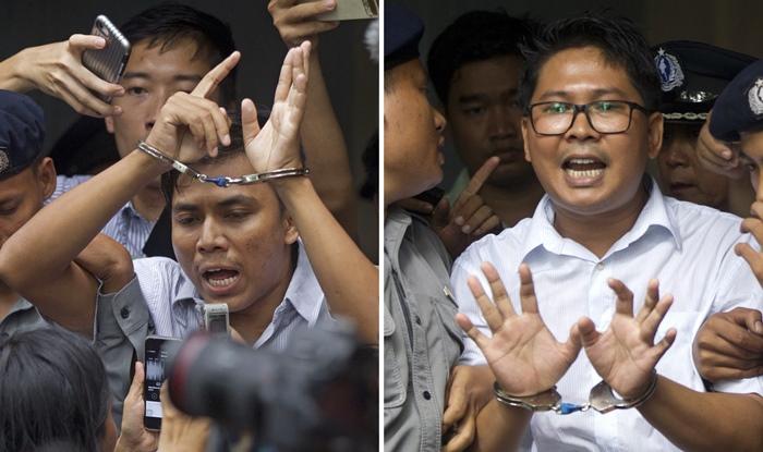 ศาลพม่าจำคุกนักข่าวรอยเตอร์7ปี  นานาปท.ประณาม-อัดยับชื่อเสียง'ซูจี'