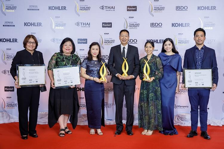 ชาญอิสสระคว้า 3 รางวัลจาก Thailand Property Award 2018