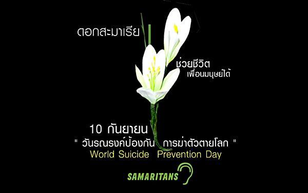 ไม่เชื่อก็ต้องเชื่อ คนไทยฆ่าตัวตายมากกว่าฆ่ากันตาย!ดอกบัวดินเป็นสัญลักษณ์ของการช่วยชีวิต!!