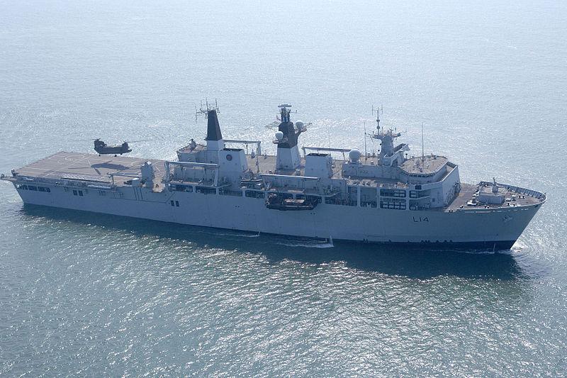 ท้าพญามังกร! เรือรบอังกฤษล่องเฉียด 'หมู่เกาะพาราเซล' ขณะมุ่งหน้าไปเวียดนาม