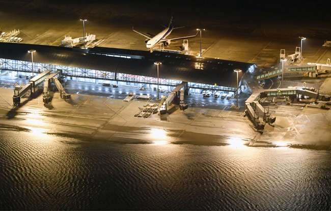 สนามบินคันไซเปิดเที่ยวบินในประเทศพรุ่งนี้ ต่างประเทศยังไม่มีกำหนด