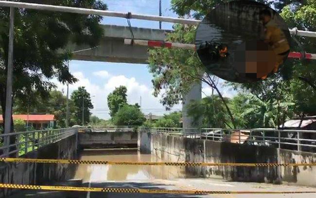 หญิงนักธุรกิจวัย 41 ปี ขับรถลอดอุโมงค์น้ำมิดหลังคาดับ อ่อนนุช 65