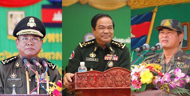 """""""ฮุนเซน"""" ตั้ง 3 บิ๊กพลเอกนั่งรองนายกฯ ถ่ายเลือดกองทัพ"""