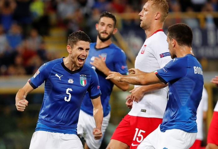 Image result for อิตาลีเจ๊าโปแลนด์ประเดิมเนชั่นส์ลีก 1-1