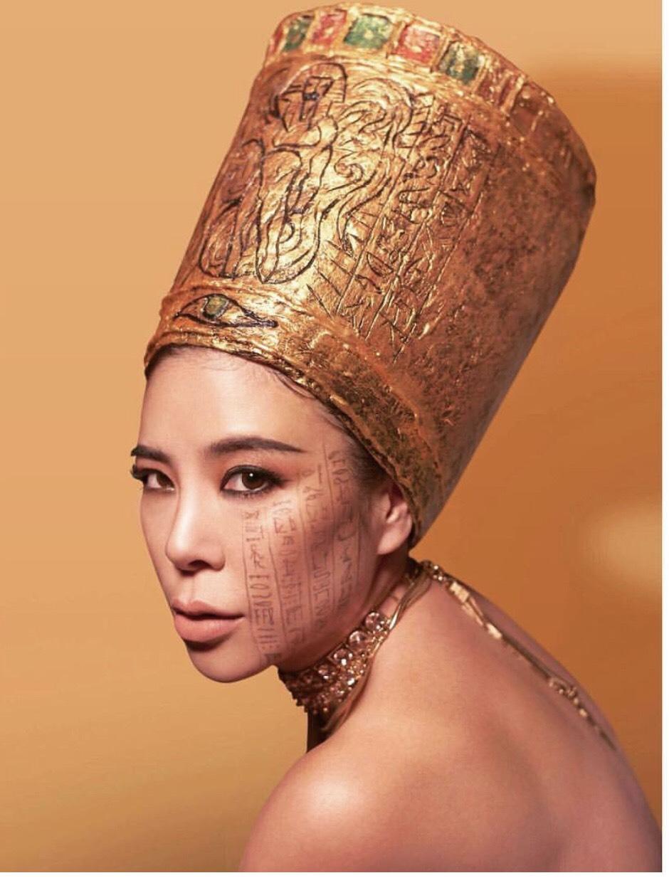 หือรีบดู!มี้-มิลิน แปลงโฉมเป็นราชินีเนเฟอร์ติติ แห่งอียิป สวยจนต้องขยี้ตาดู