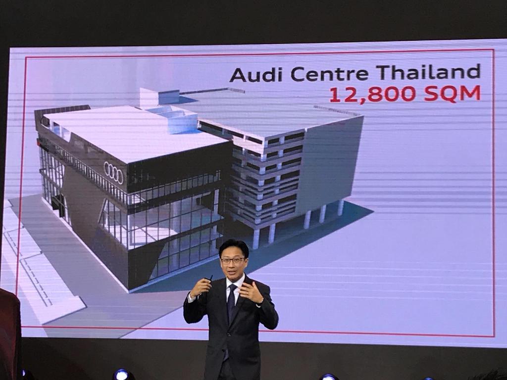 อาวดี้ ไทย เปิด Q8 ครั้งแรกในอาเซียน ฉลองสำนักงานใหญ่แห่งใหม่