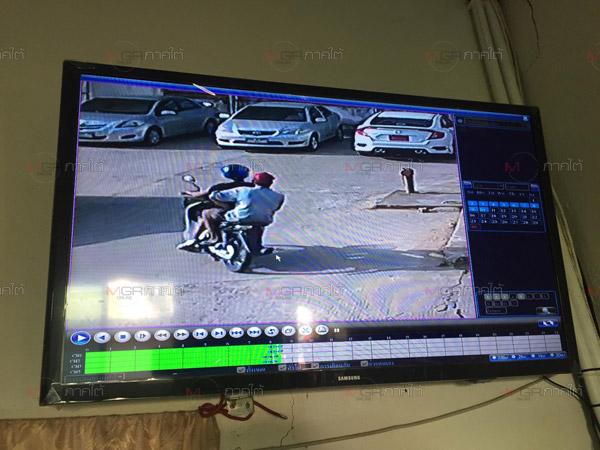 สองคนร้ายใช้กุญแจผีขโมยรถจักรยานยนต์นักเรียนพะตงวิทยามูลนิธิหนีลอยนวล