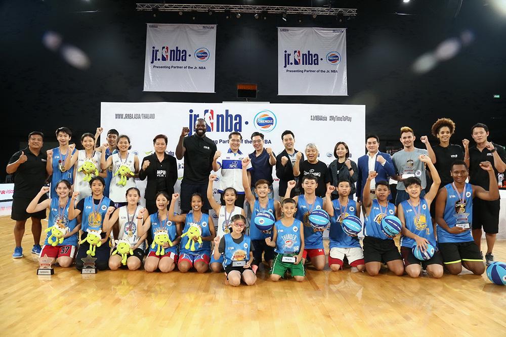 """""""เจสัน ริชาร์ดสัน"""" อดีตผู้เล่นดัง ร่วมคัด 16 เยาวชนไทยร่วมทีม """"จูเนียร์ เอ็นบีเอ ออลสตาร์ ไทยแลนด์"""" บุกเปิดประสบการณ์ที่จีน"""