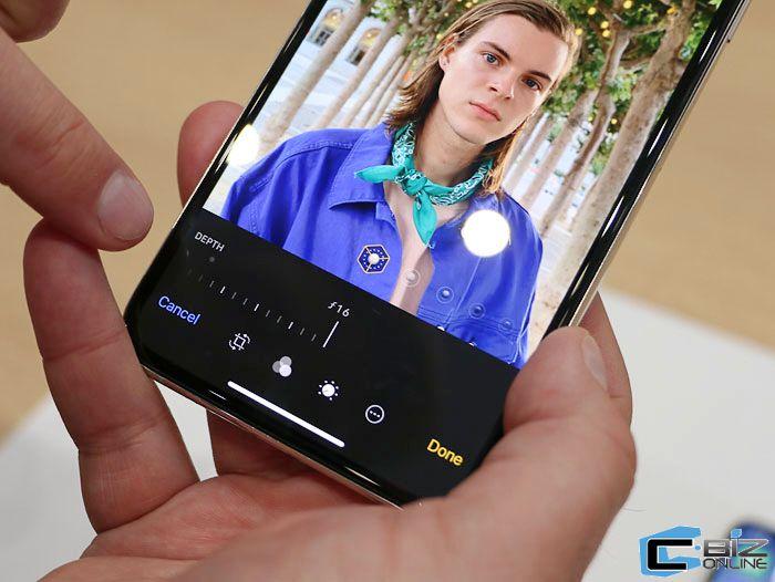 ฟีเจอร์ใหม่ใน iPhone คือสามารถปรับความชัดลึกชัดตื้นหลังถ่ายในโหมด Portrait ได้