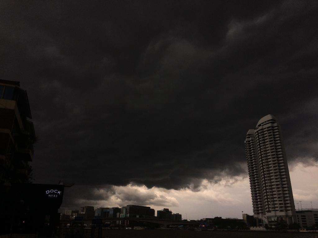 """กรมอุตุฯเตือน 13 - 18 ก.ย. หลายพื้นที่มีฝนตก พายุ """"บารีจัต"""" จ่อขึ้นเกาะไหหลำจีน  เตรียมรับมือฝนตกหนัก"""