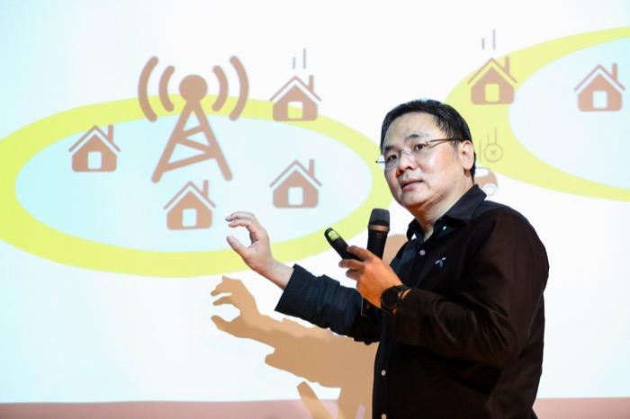 ประเทศ ตันกุรานันท์ รองประธานเจ้าหน้าที่บริหารกลุ่มเทคโนโลยี ดีแทค