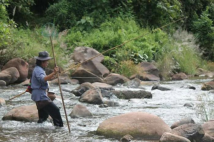 ลำน้ำมาง แหล่งทรัพยากรสำคัญของชุมชน