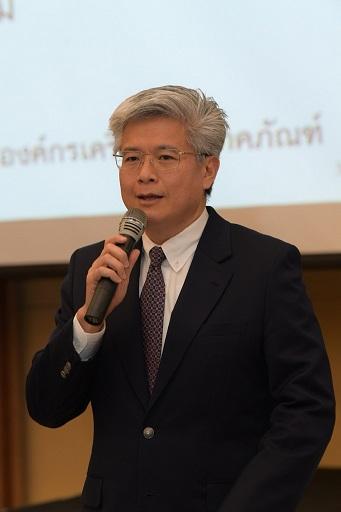 นพปฎล เดชอุดม ประธานคณะผู้บริหารด้านความยั่งยืนองค์กร เครือเจริญโภคภัณฑ์