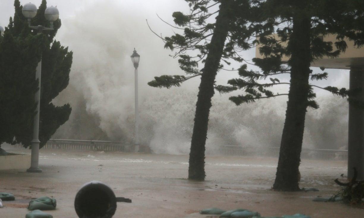 เตือนภัยสูงสุด! โคตรไต้ฝุ่นมังคุดบุกถล่มฮ่องกง-จีน ส่วนฟิลิปปินส์ตายเกลื่อน