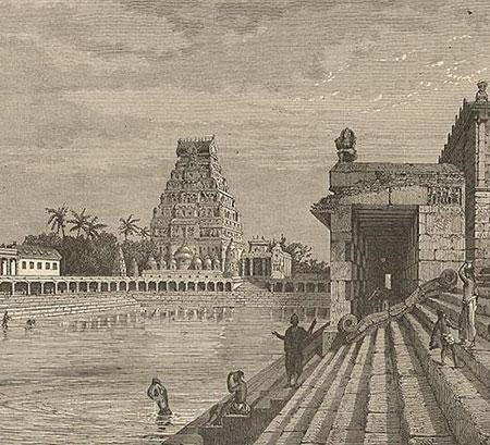 วิหารจิฎัมบาราม รัฐทมิฬนาฑู (ที่มา : Wikicommons)