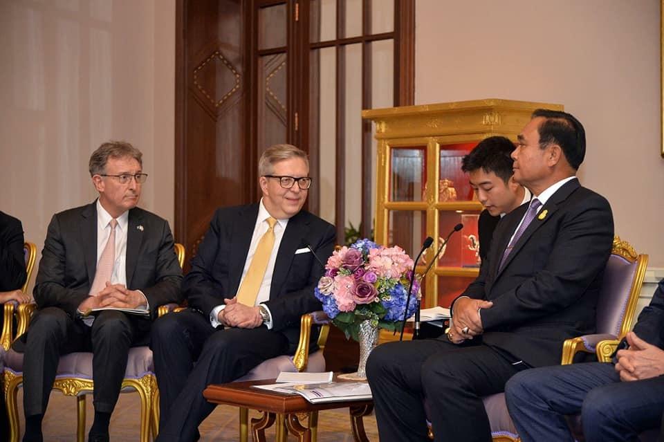 คณะผู้แทนสภาธุรกิจสหภาพยุโรป-อาเซียน ถก นายกฯ ตอบรับนโยบาย Thailand 4.0