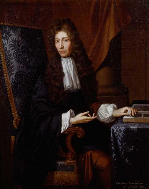 ภาพเหมือน Robert Boyle ผู้ริเริ่มแนวคิดศูนย์องศาสัมบูรณ์