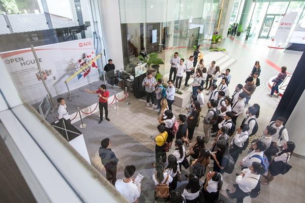 """""""SCG Open House"""" สะท้อนความมุ่งมั่นสร้างสรรค์นวัตกรรมยุคดิจิทัล ผ่านแนวคิดพนักงานรุ่นใหม่และผู้นำองค์กร"""