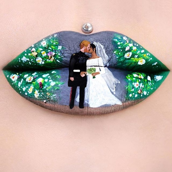 Royal Lip Art