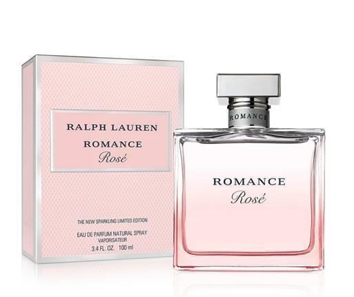 Ralph Lauren Romance Rosé น้ำหอมกลิ่นสดชื่นของ เบอกาม็อท ผสานกับความฉ่ำของลิ้นจี่ แอปเปิลแดง และแบล็กเคอร์แรนต์ ขนาด 100 มล. ราคา 4,800 บาท