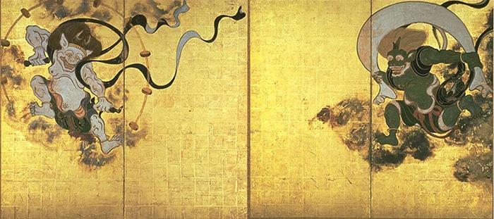 ยลศิลป์ยินญี่ปุ่น : อภินิหารเทพลมกับเทพสายฟ้า