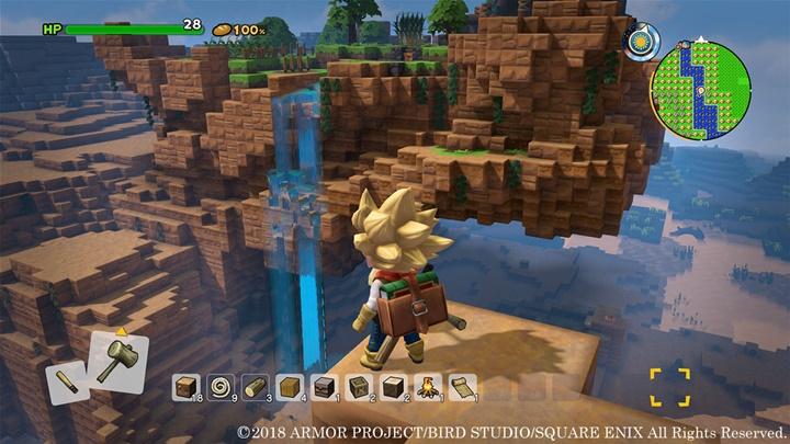 """TGS: """"Dragon Quest Builders 2"""" อาร์พีจีสร้างโลก (เหลี่ยม)"""
