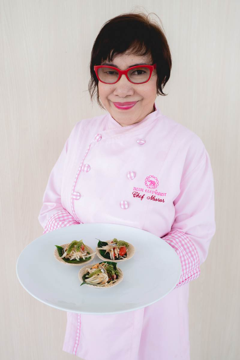 Chef Nooror Somany Steppe (Blue Elephant)