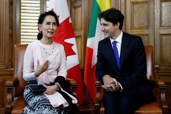 """In Clips: รัฐสภาแคนาดามีมติเอกฉันท์ถอดตำแหน่ง """"พลเมืองเกียรติยศ"""" จากอองซาน ซูจี"""