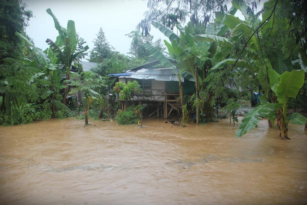 ฝนถล่มลับแล นานกว่า 7 ชม.น้ำตกแม่พูลขุ่นคลั่ก-ชาวสวนลองกอง ยังไม่ลงเขา