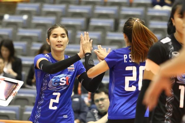 สาวไทย แรงตก! พ่าย รัสเซีย 2-3 ศึกชิงแชมป์โลก