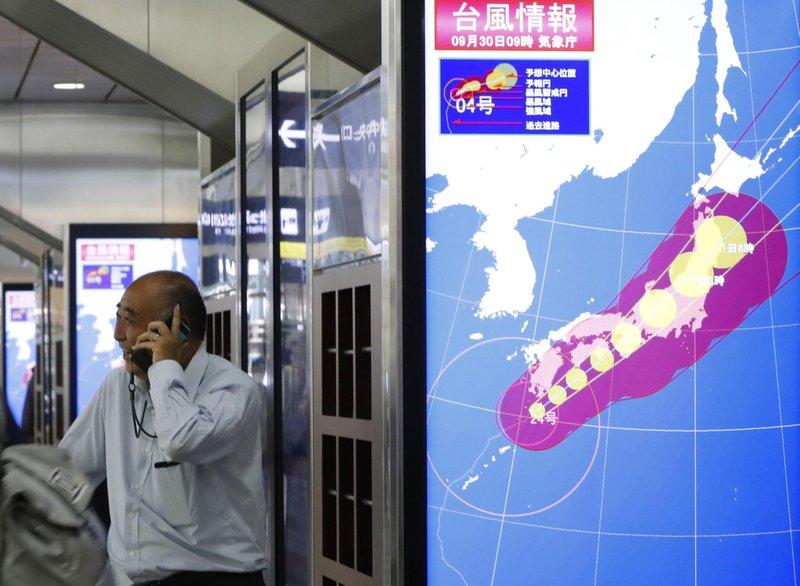 ไต้ฝุ่นจ่ามีทำญี่ปุ่นตาย 2 ศพ บาดเจ็บนับร้อย