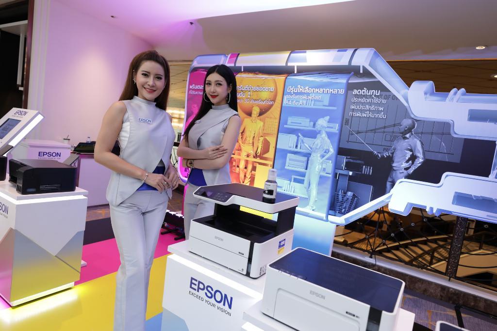 เอปสันตั้งเป้าฉลองชัยอิงค์เจ็ทแท็งค์1.5 ล้านเครื่องในไทยสิ้นปีนี้