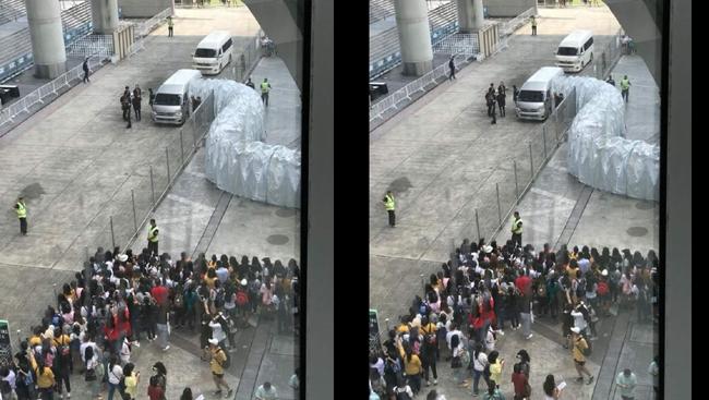ดรามาคอนเสิร์ต KCON เมื่อผู้จัดอย่างเข้ม ส่งงวงช้างรับศิลปินเกาหลีถึงรถ ด้านติ่งชี้่น่าจะเตรียมไว้กรณีฝนตก