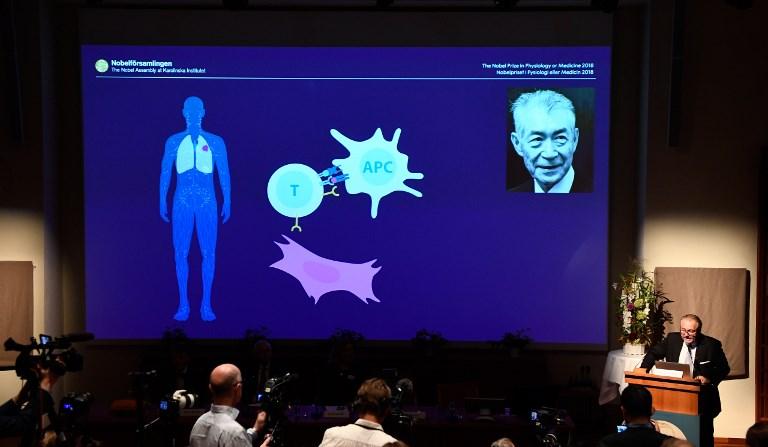 โนเบลแพทย์ 2018 รักษามะเร็งที่ระบบภูมิคุ้มกัน