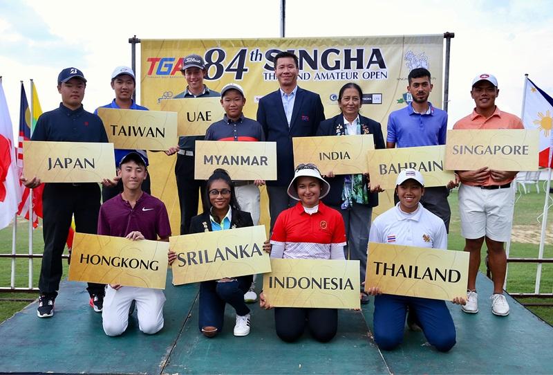 14 ชาติ ลงชิงชัยกอล์ฟสมัครเล่นชิงแชมป์ประเทศไทยที่ปัญญาฯ