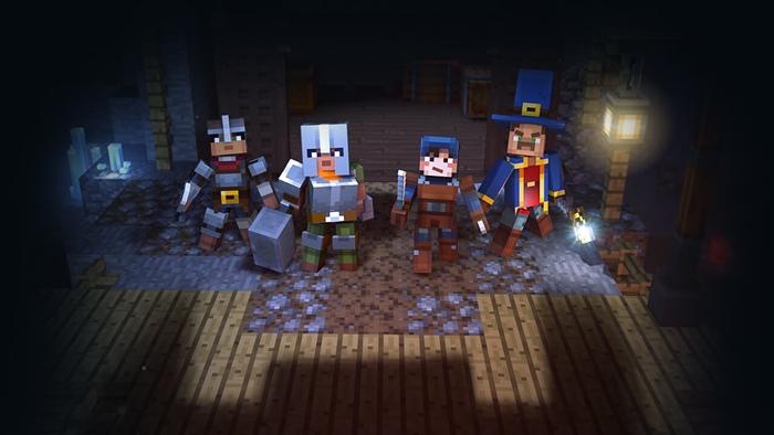 """โมจัง เปิดตัวภาคใหม่ """"Minecraft"""" พาเพื่อนตะลุยดันเจี้ยน"""