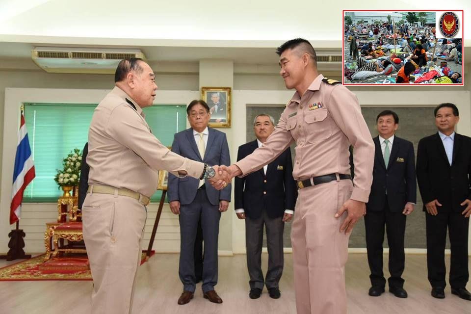 """กห.ส่งเครื่องรับคนไทยพ้นพื้นที่สึนามิ พร้อมช่วยอินโดฯ-คุยประนอมหนี้ """"สมรักษ์"""" แล้ว"""