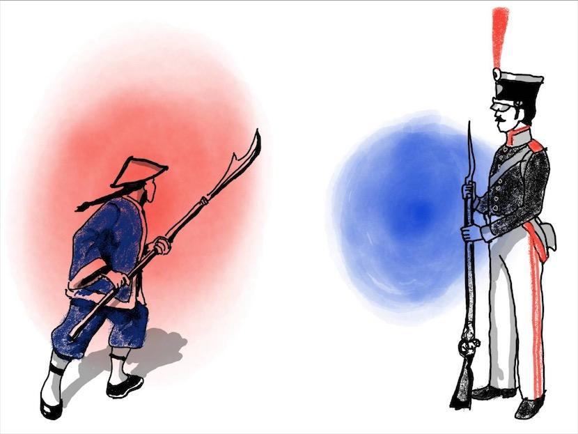 สงครามฝิ่น - จุดกำเนิดจีนยุคใหม่/สรวงมณฑ์ สิทธิสมาน