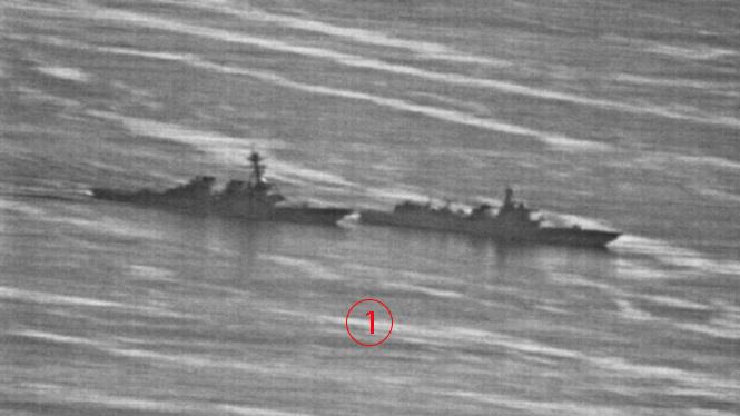 ตัวต่อตัว.. ดูภาพเหตุการณ์จริงเรือรบจีนห่ามสุดๆซิ่งปาดหน้าเรือพิฆาตสหรัฐ 40 เมตร