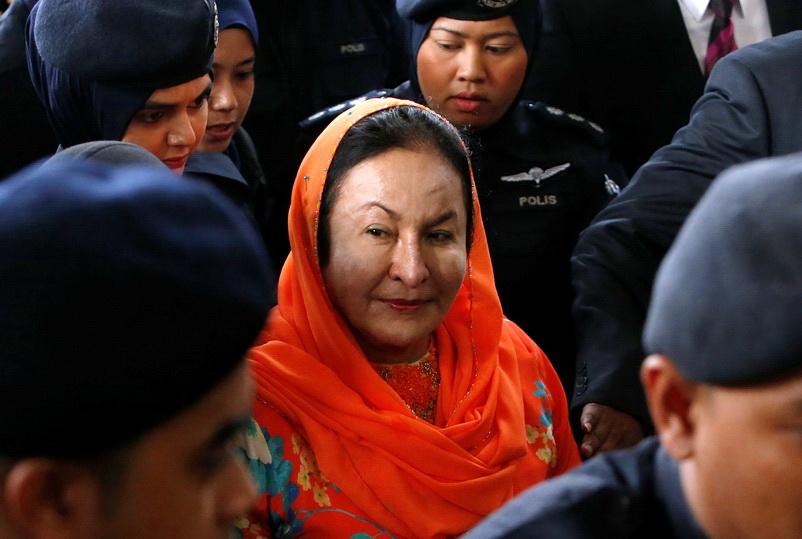 เมีย 'นาจิบ' ถูกตั้งข้อหา 'ฟอกเงิน-เลี่ยงภาษี' รวม 17 กระทง