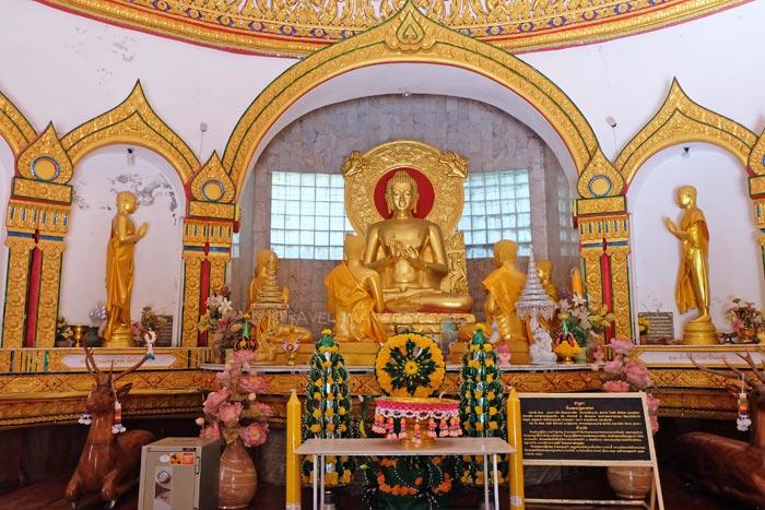 พระพุทธเจ้าทรงแสดงปฐมเทศนาแก่ปัญจวัคคีย์ทั้ง 5