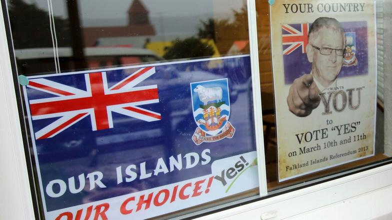 อาร์เจนตินาโวยอังกฤษจ่อซ้อมรบบริเวณ 'หมู่เกาะฟอล์กแลนด์'