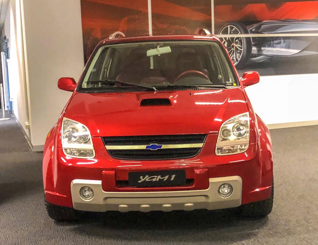 YGM 1 SUV ขนาดเล็ก ซึ่งเป็นผลงานชิ้นแรกของ GM Australia Design ที่ส่งไปโชว์ในระดับโลก