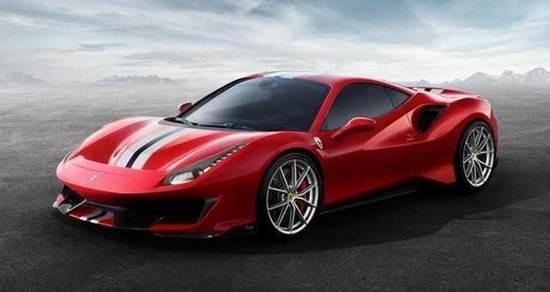 แฟ้มภาพ รถสปอร์ต Ferrari 488