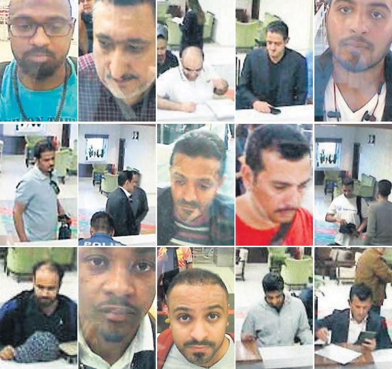 กล้องวงจรปิดของสนามบินอตาเติร์กบันทึกภาพชายชาวซาอุฯ 15 คน ซึ่งตำรวจตุรกีสันนิษฐานว่าอาจจะเกี่ยวข้องกับการหายตัวไปของ จามาล คาช็อกกี