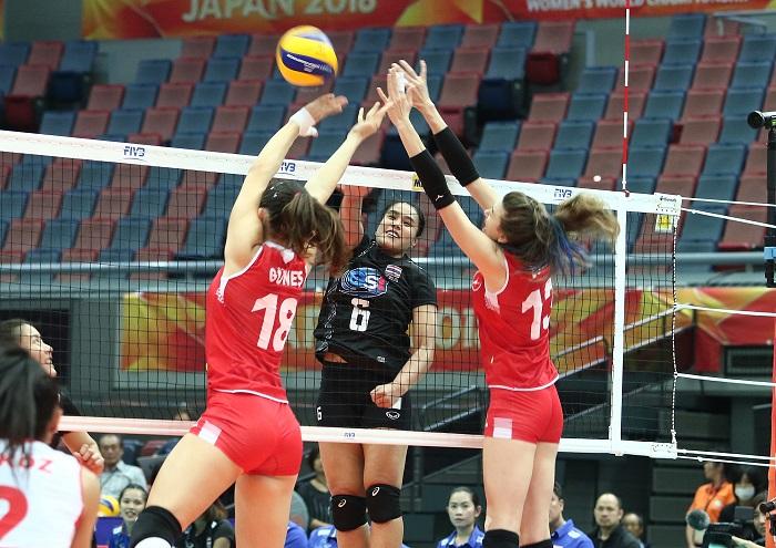 """ตบสาวไทย ทำเต็มที่ พ่าย """"ตุรกี"""" 1-3 เซต ปิดฉากลูกยางชิงแชมป์โลก"""